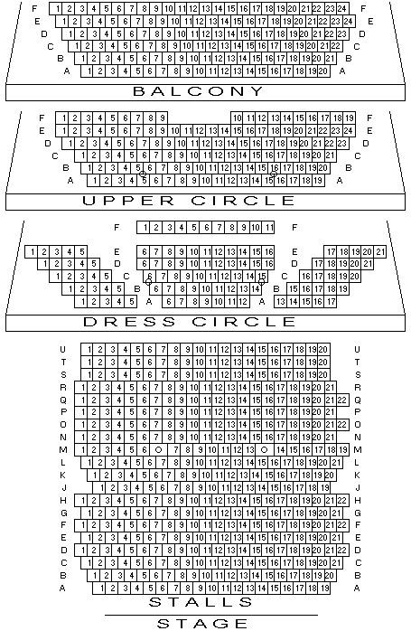 Comedy Theatre Seating Chart 3 Am Design And Film